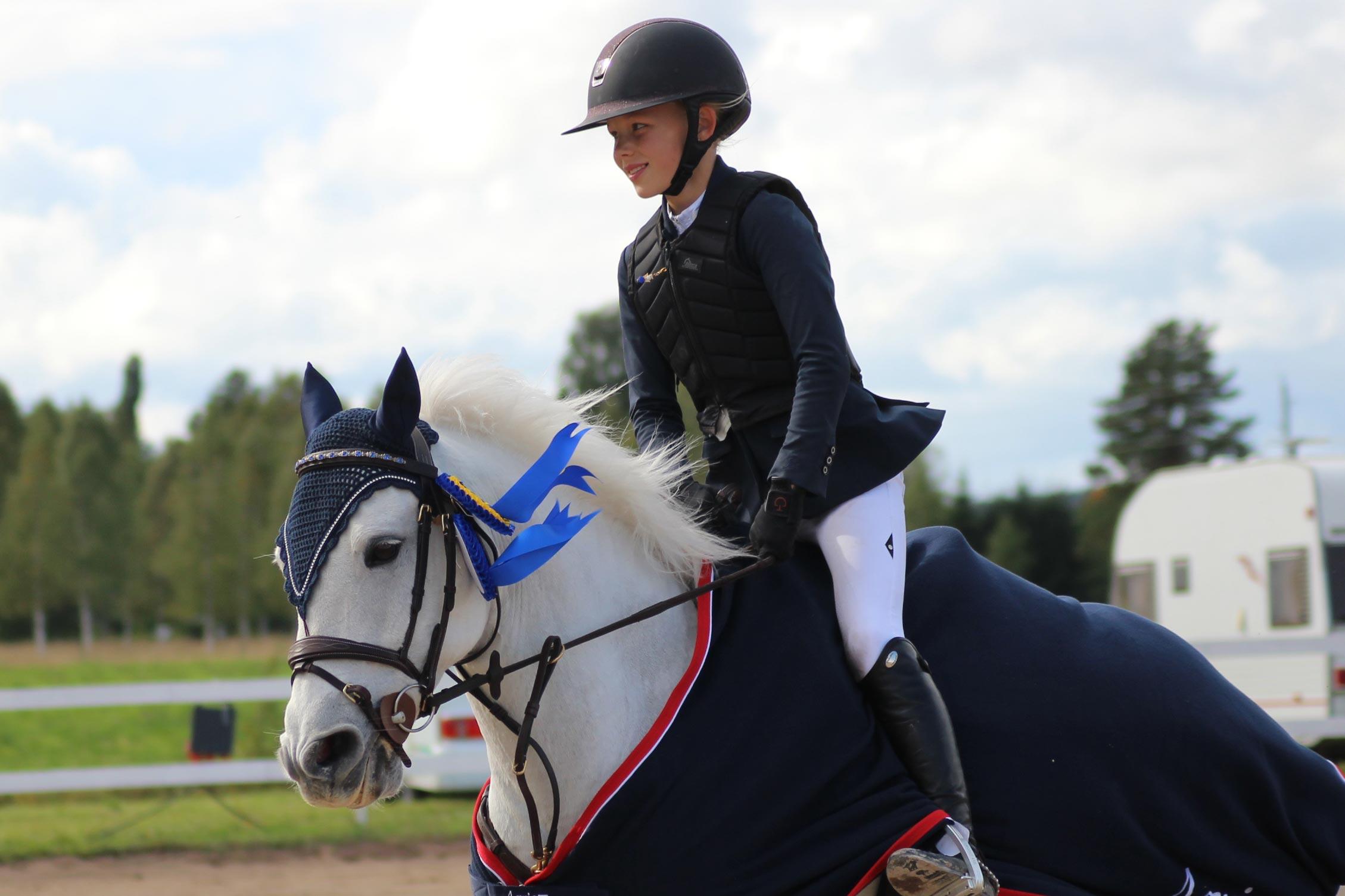 msv A kategori:c, 1a plats Det kom Ebba Danielsson med Smithstown Toodles Foto: Natalie Flensburg