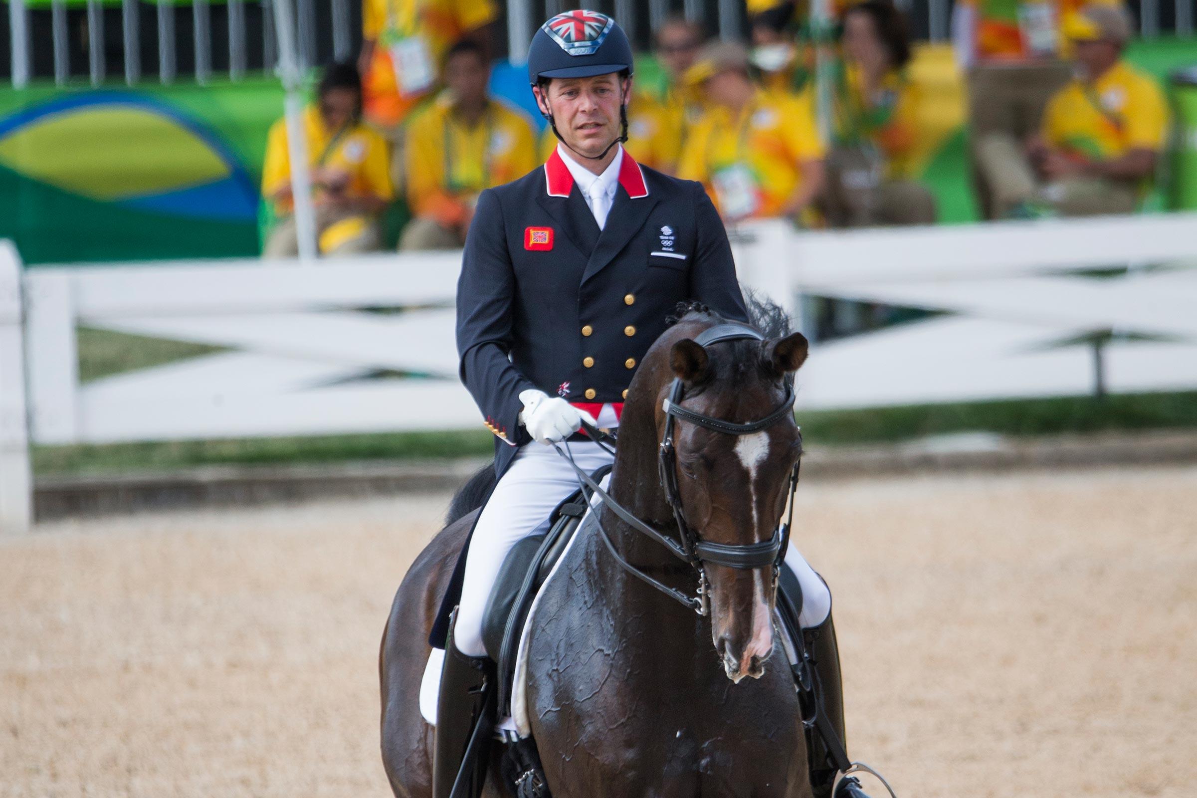 160812 Spencer Wilton, GBR och Super Nova II den 12 augusti 2016 under OS i Rio de Janeiro Photo: Roland Thunholm / BILDBYRÅN / COP 190