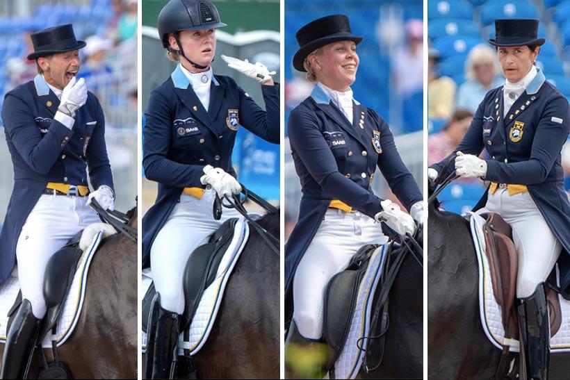 Fyra svenska ryttare i Specialen – tre slutar på topp 10
