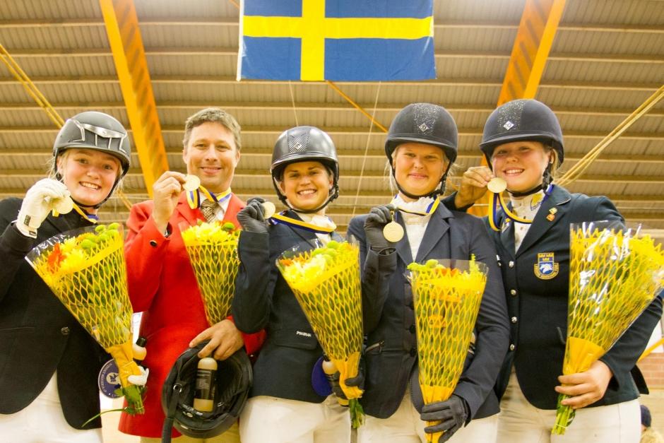 Hässleholm och Hofors tog lagguld på SM