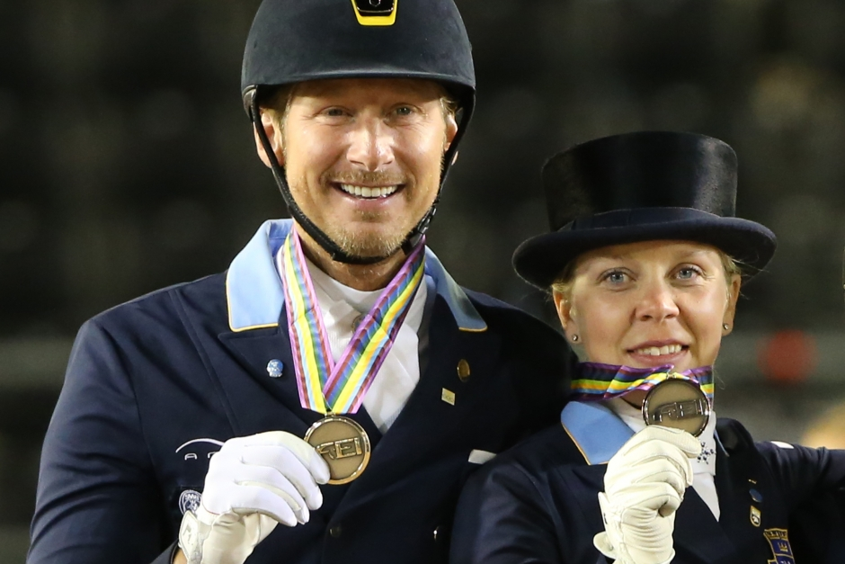VM-ryttare tävlar hemma i Sverige strax efter Tryon