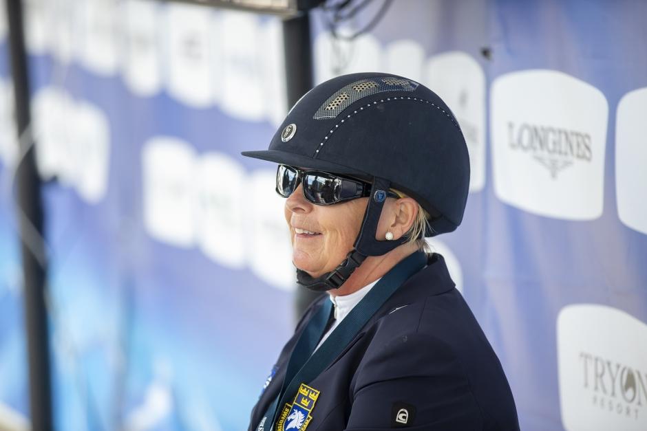 Zernard drabbad av fång: VM över för Louise
