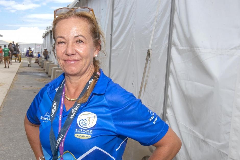"""Ulrika dopningskontrollant i Tryon: """"Vi jobbar stenhårt"""""""