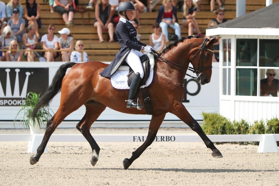 Finalhelgen har börjat: Gunilla Byström och Vectra vassast i GP:n