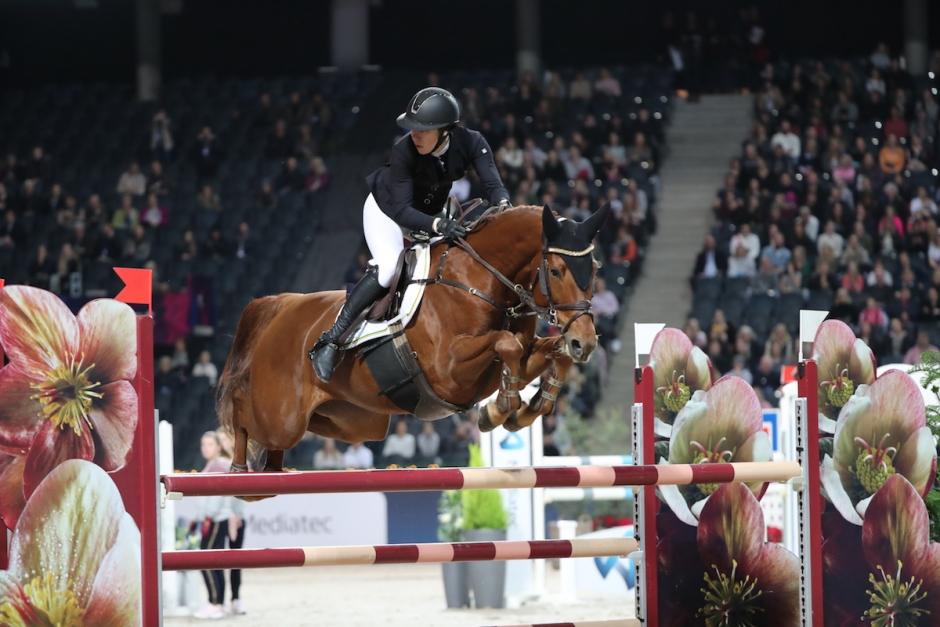 Amanda Eriksson satte eliten på plats