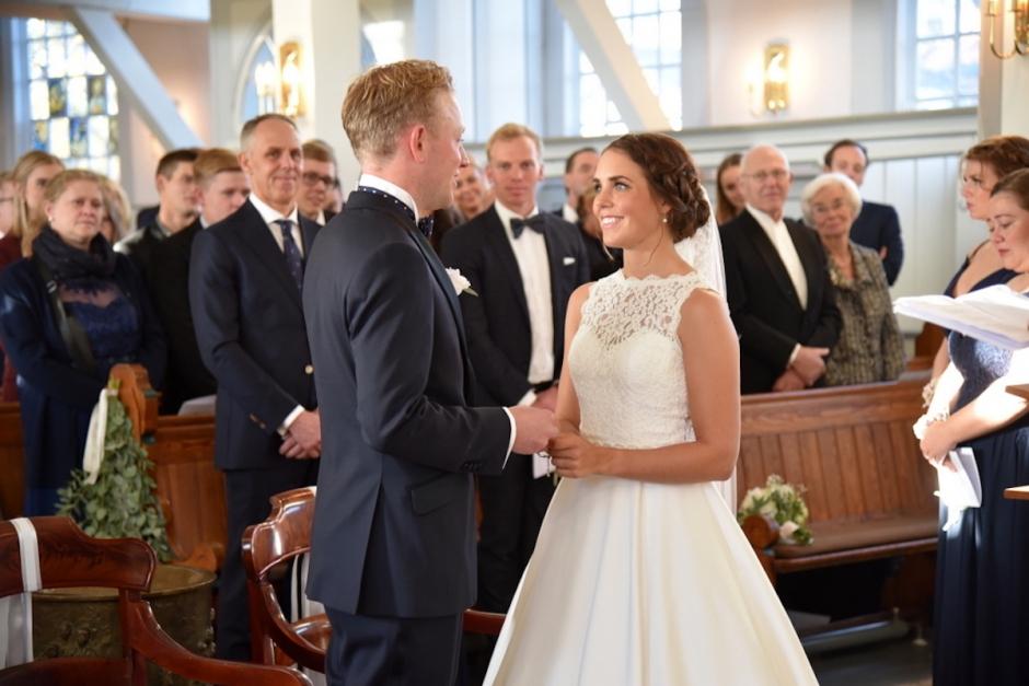 Svensk EM-medaljör har gift sig