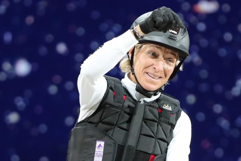 """Seger-Klimke vet hur man har kul: """"Parmi är min fun-horse"""""""