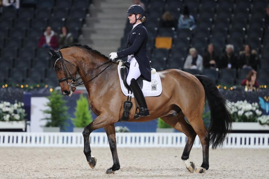 Tajt i täten när Karin Öljemark vann Grand Prix