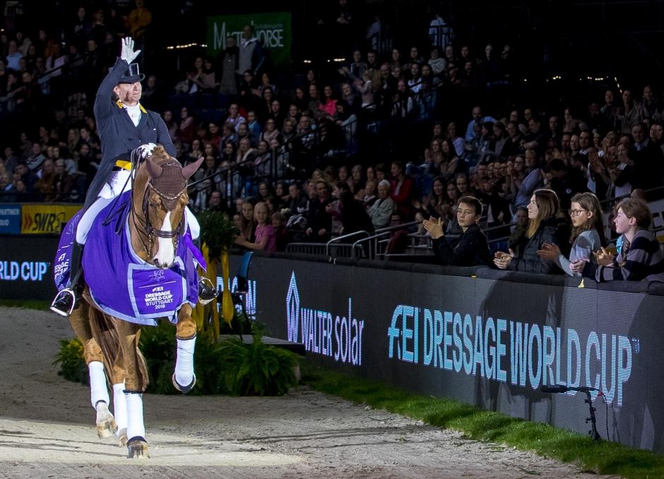 Tinne klättrar – Isabell Werth fortsätter att vinna