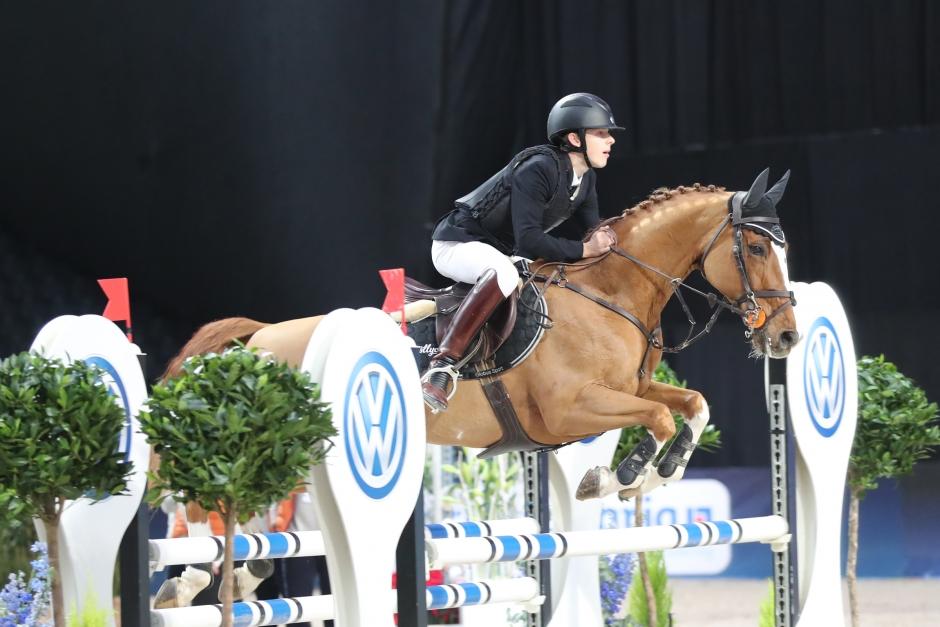 Guldponnyns succédebut i internationella hästklasser