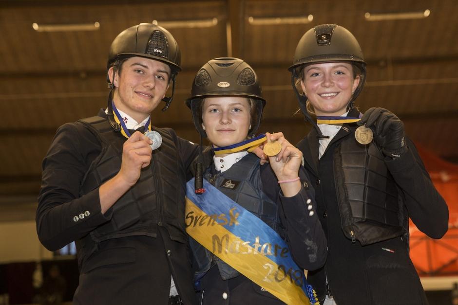 Här är årets JSM-medaljörer
