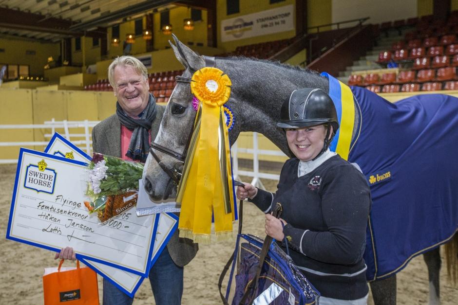 Familjens Janssons unga vinnare såld till mästerskapsmedaljör