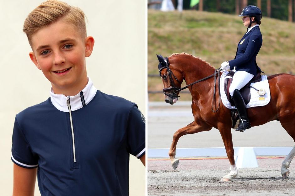 Elliot Nilsson satsar internationellt med ny ponny