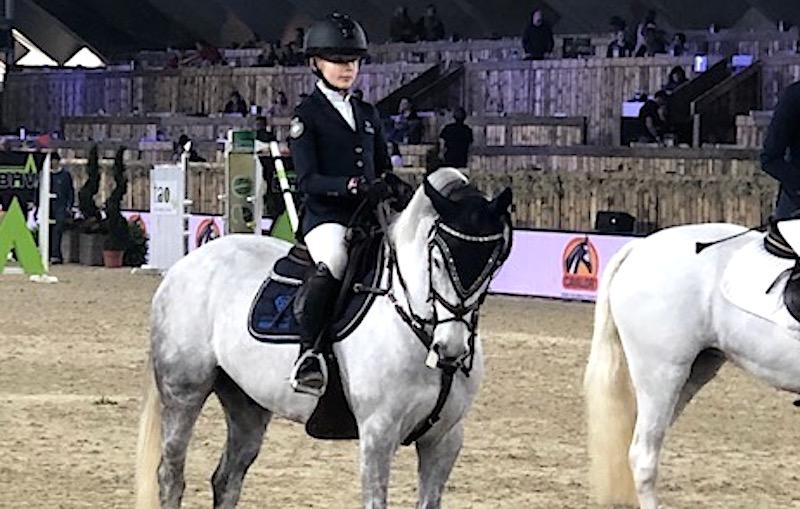 Guldläge för Ebba Danielsson inför ponnyfinalen