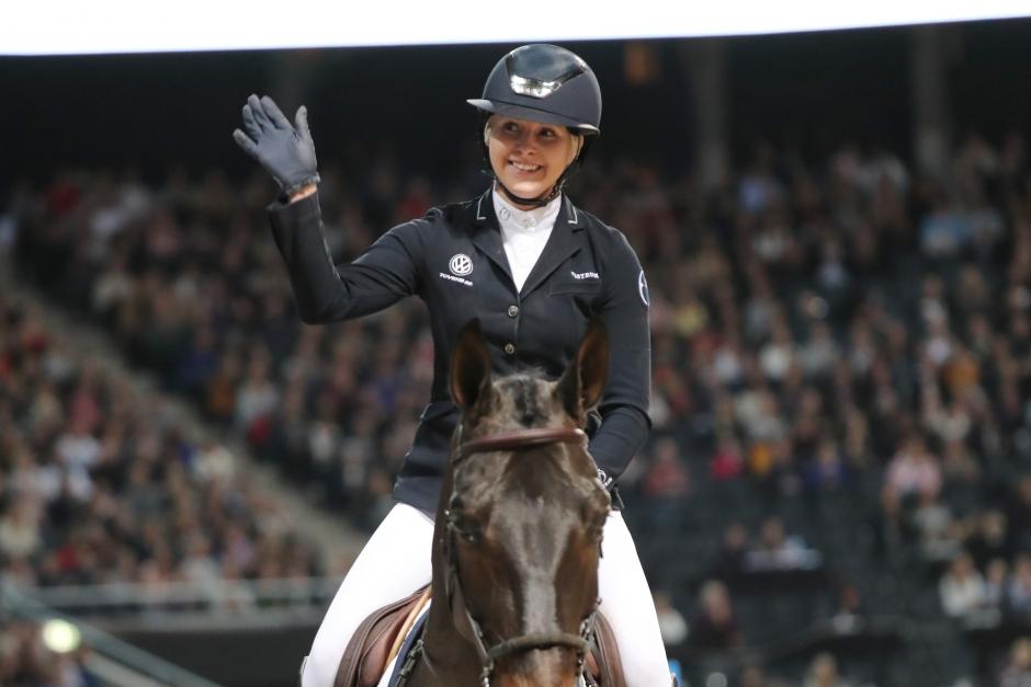 Framgångar för svenska hoppryttarna – Evelina Tovek GP-placerad i GCT
