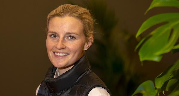 """Petronella Andersson i vinnarform: """"På väg uppåt"""""""