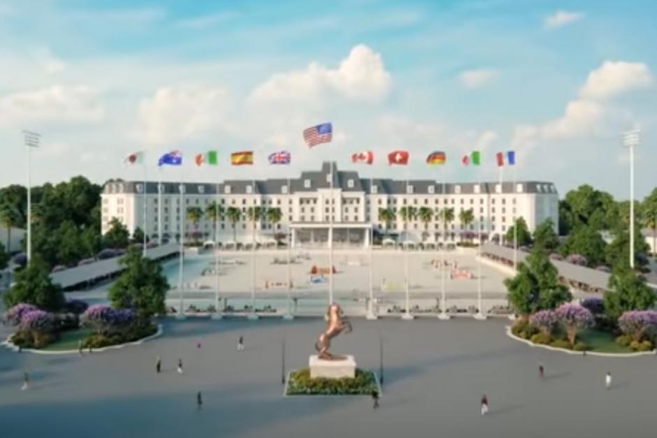 Förhandstitt: Gigantiskt lyx-ridcenter byggs