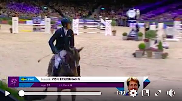 Se von Eckermanns vinnande omhoppning