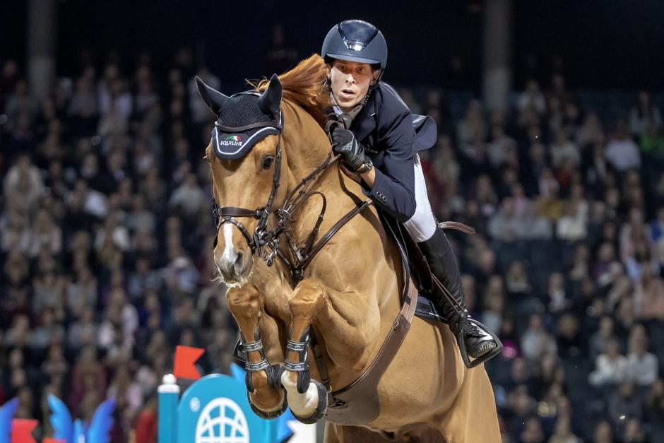 Henrik von Eckermann GP-tvåa i Aachen