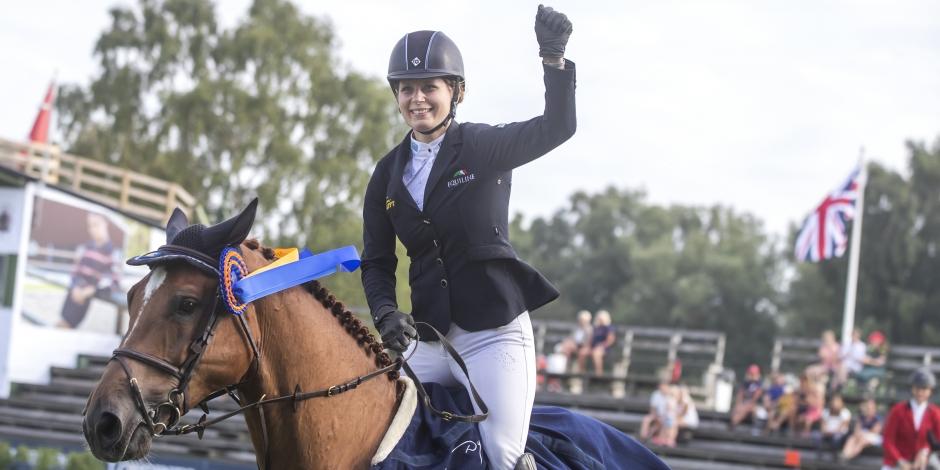 Linda Heed torsdagens vinnare på Sundbyholm