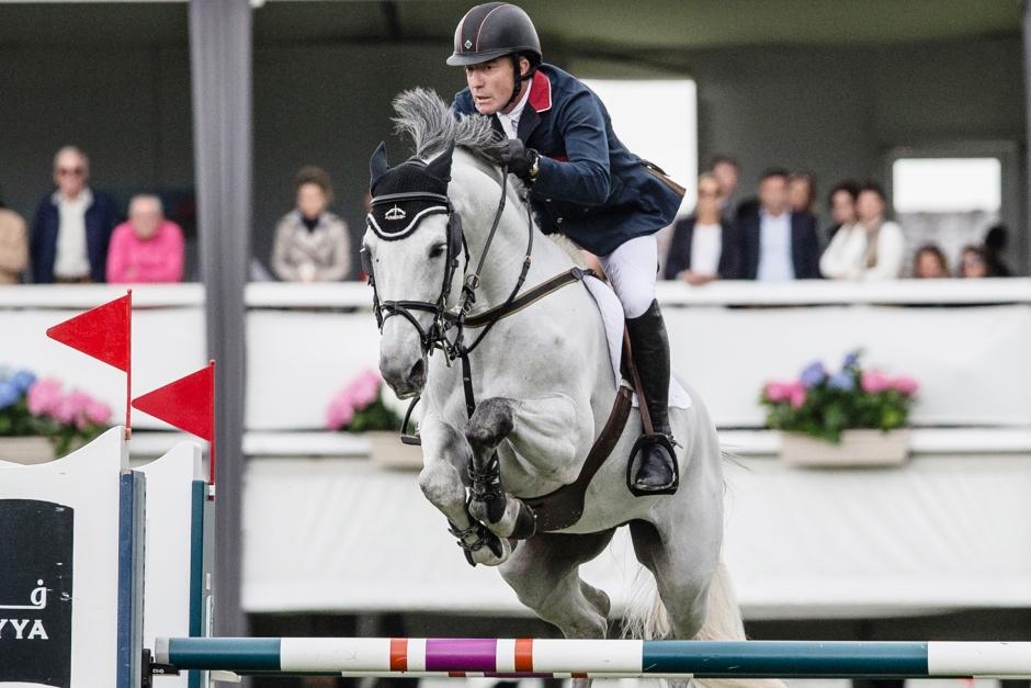 Michael Whitaker tappar OS- och EM-häst