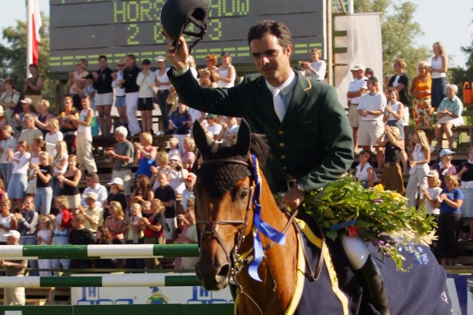 Rodrigo Pessoas VM-guldhäst har somnat in