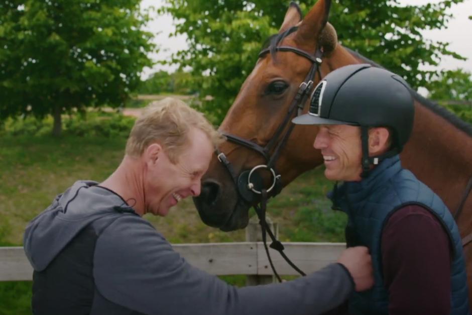Glada skratt och samtal om panikångest: Kolla in trailern med Gunde och Peder