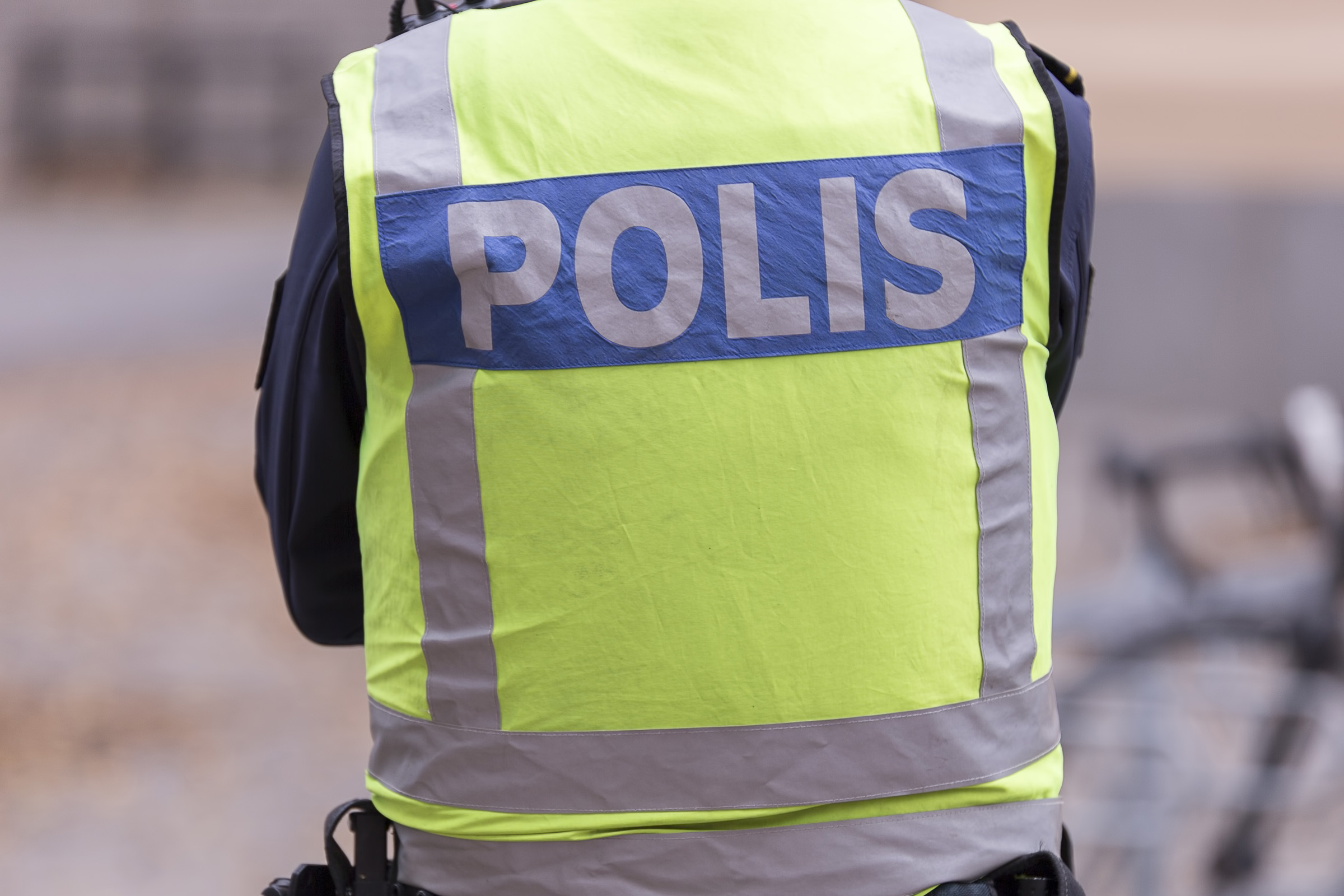Swedish Police Officer