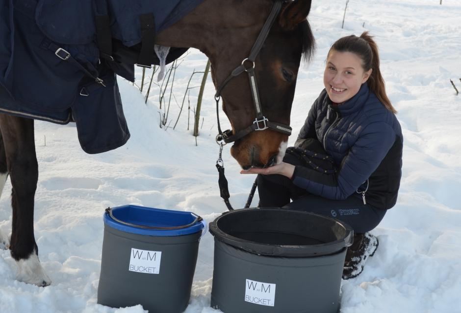 Ung entreprenör i kylan: Wilmas idé håller isen borta
