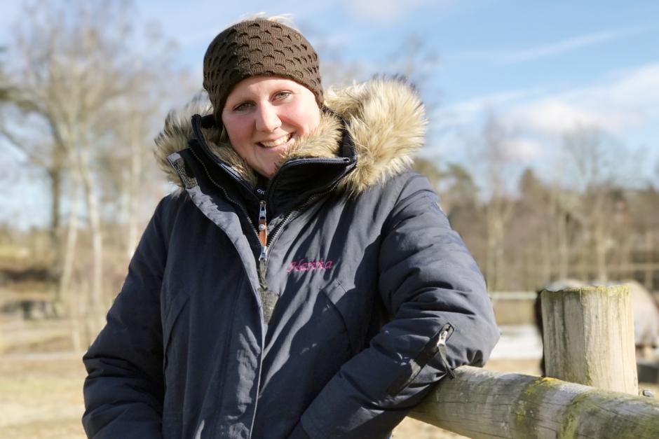 Hanna Berg tipsar om galopperande evighetsövning