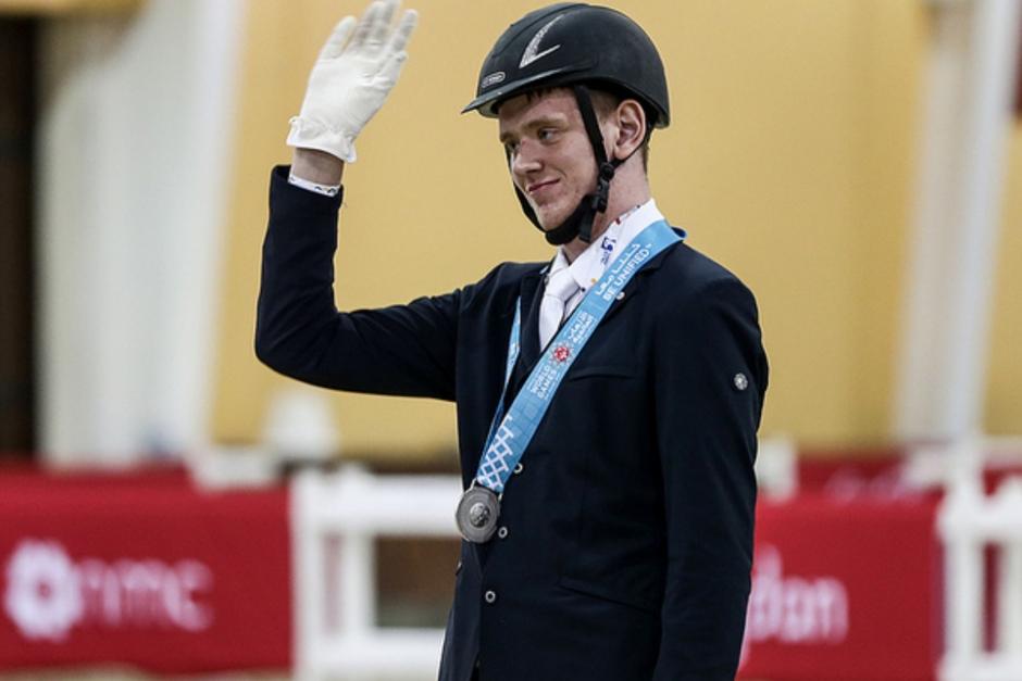 Silvermedaljören Jimmy Andersson nominerad till Parasportgalan