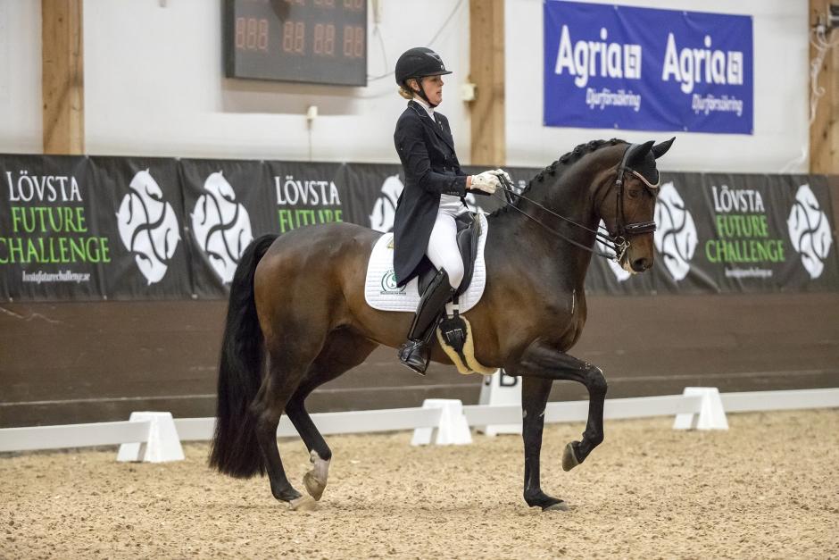 Sandra Dahlin dubbel GP-vinnare på Strömsholm
