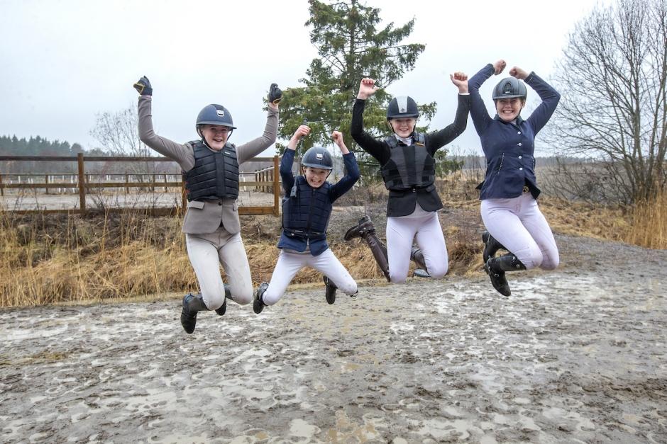 Hemmalaget vann när ponnyallsvenskan hoppade igång