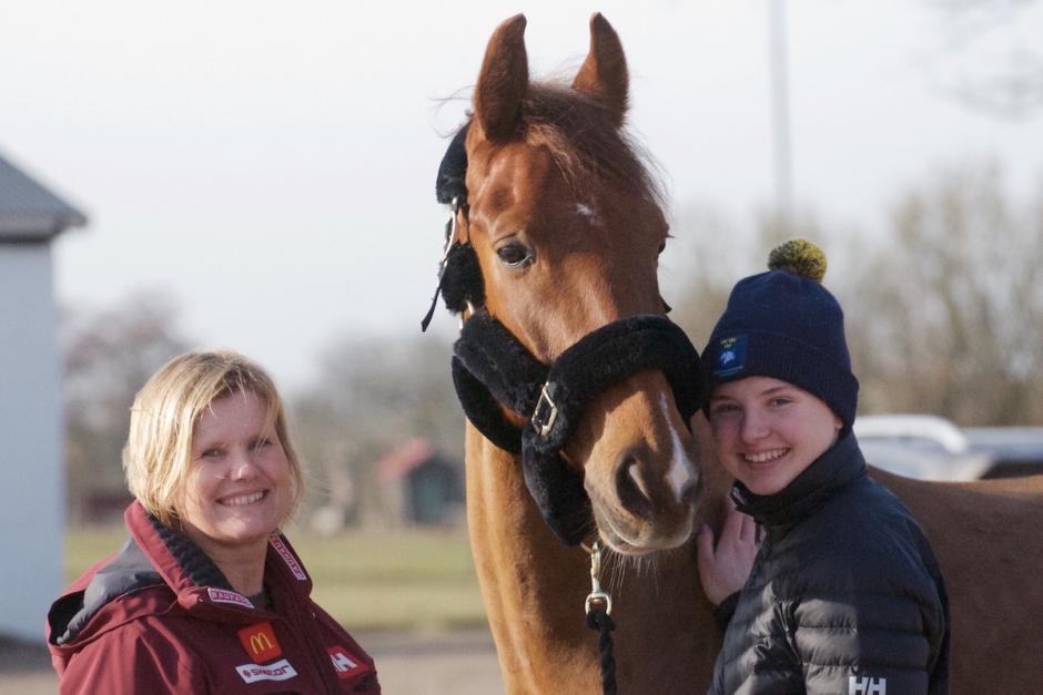 """Svenska toppkuskens nya häst: """"Det klickade direkt"""""""