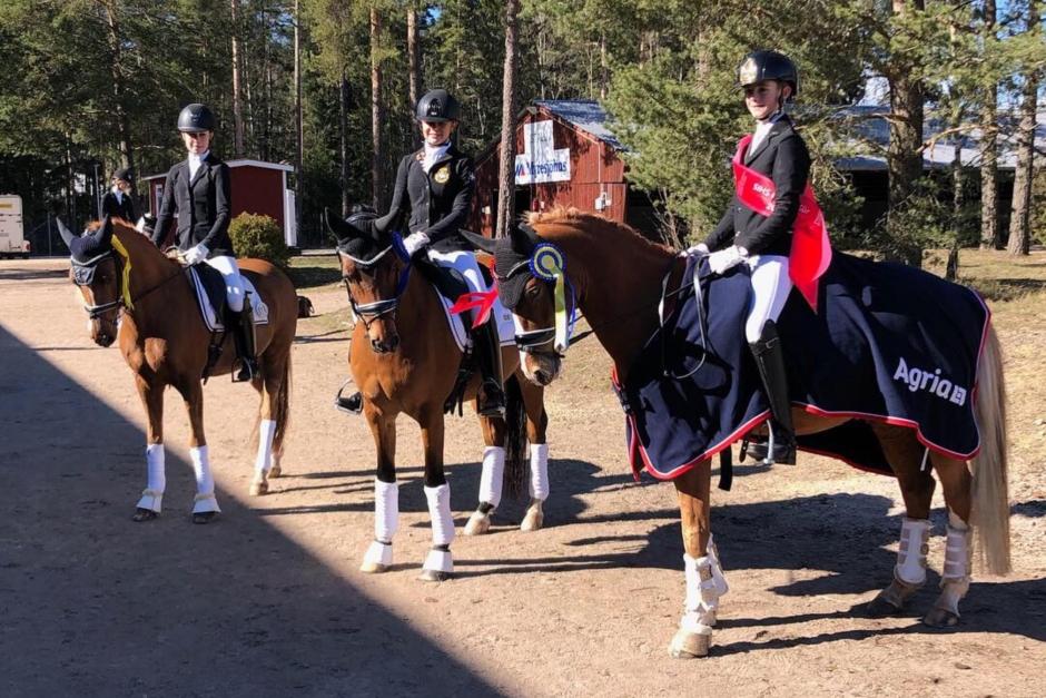 Elliot Nilsson tog hem första kvalsegern i SIHS ponnykür