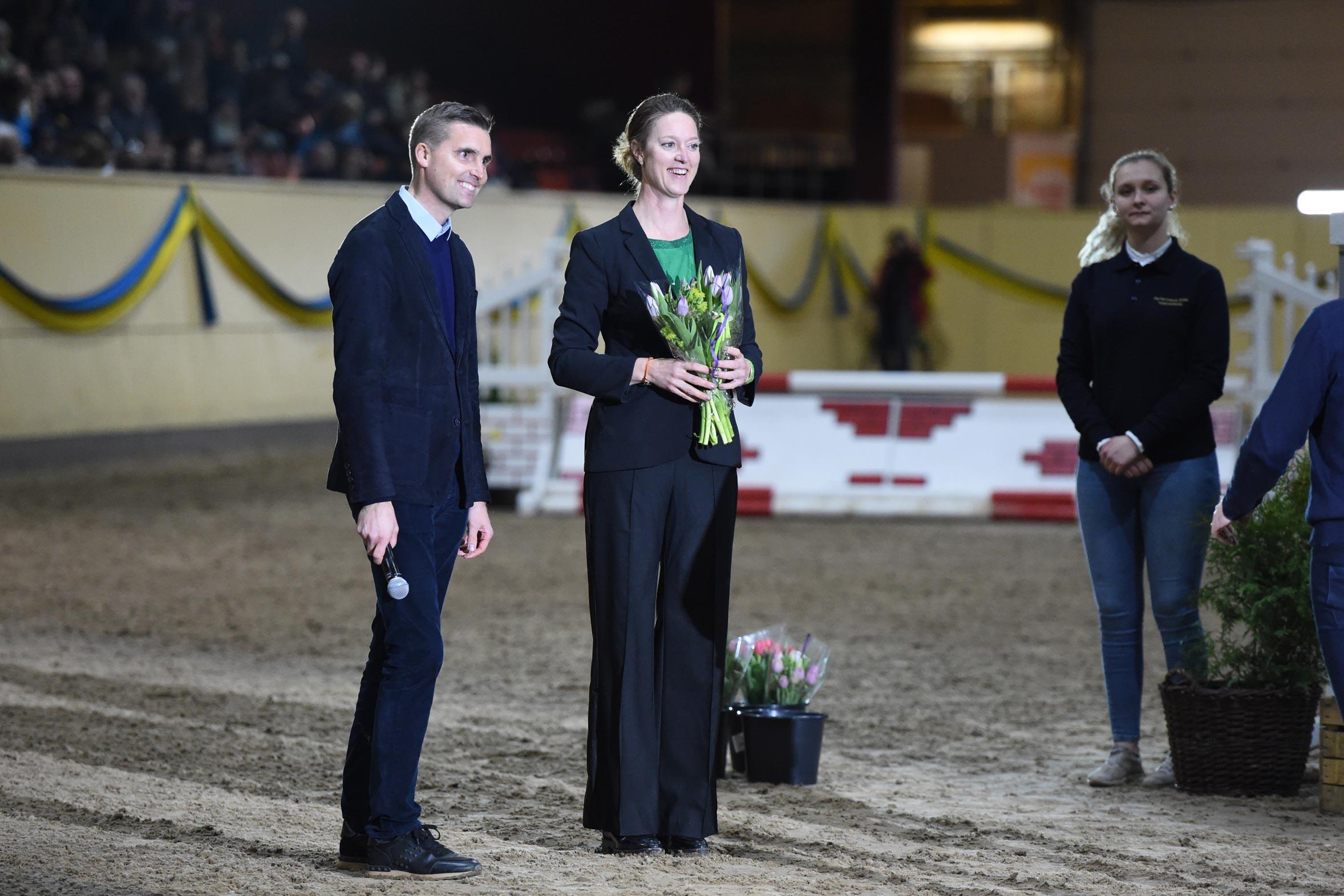 Andreas Helgstrand och Helena Torstensson PS Flyinge & Partners/Helgstrand Dressage hingstvisning, Flyinge 2019-03-31 Foto: Yvonne Karlsson