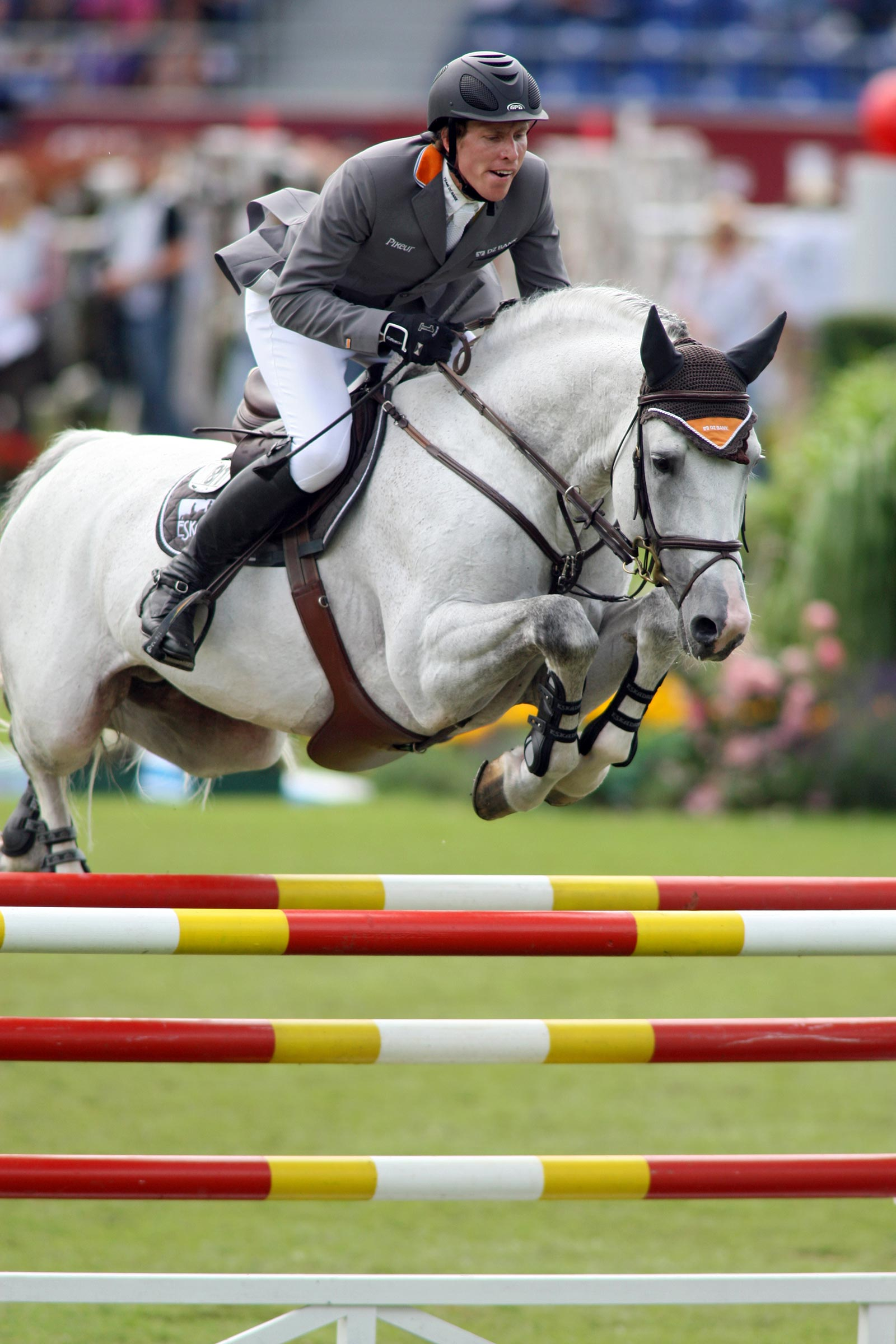 Aachen 120706 Henrik von Eckermann, SWE and Coupe de Coeur in the qualification for Grosse Prize. Photo: Roland Thunholm Code: 718 35 .