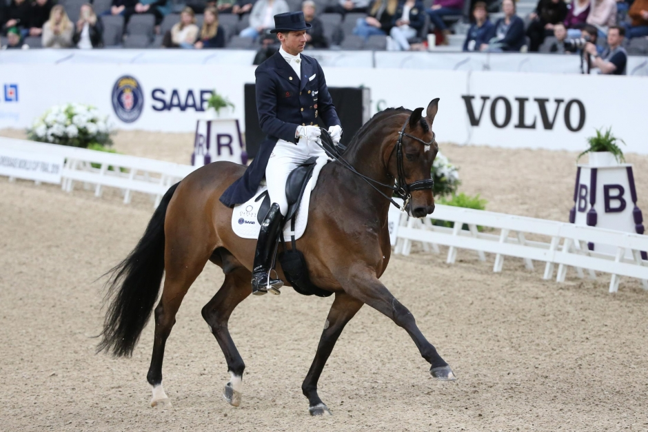 Patrik Kittel bästa svensk i Grand Prix-klassen