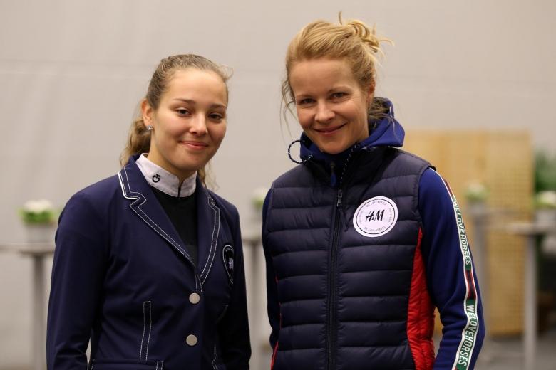 Janelle Larsson och Malin Baryard Johnsson, GHS 2019