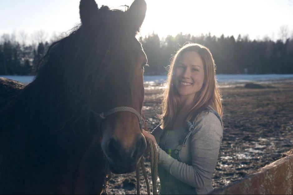 Jennie är årets hästbonde i Bonde söker fru