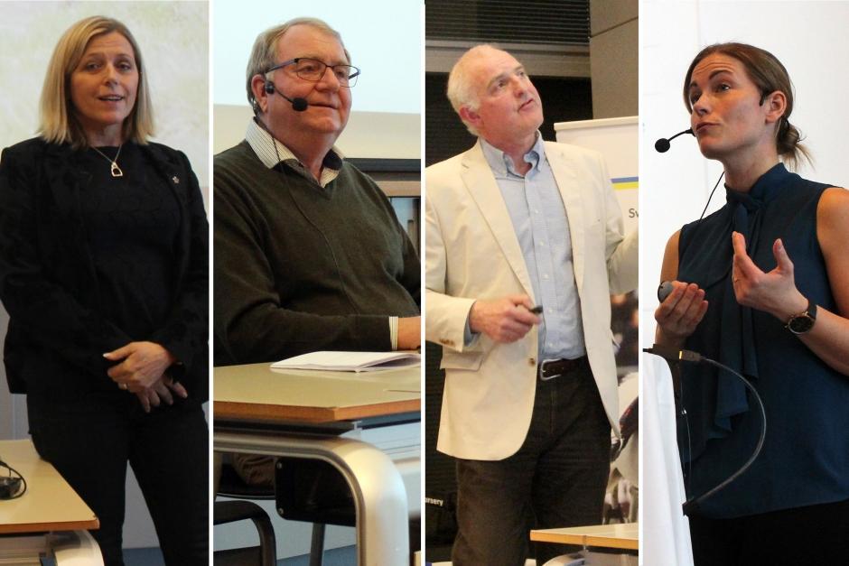 Nytta och nöje kombinerades vid SWB:s årsmöte med avelsseminarium