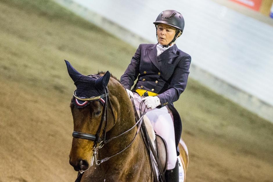 Övertygande seger för Gunilla Byström