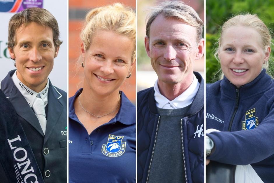 Fyra svenskar rider Global Champions i Mexiko