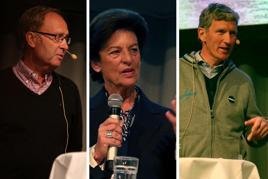 Toppdebatt: Bo Jenå och Ludger Beerbaum om hästarna då, nu och i framtiden