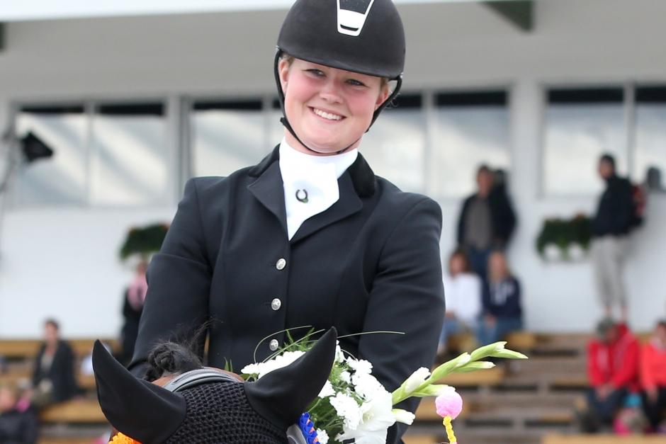 Dunderdebut: Ännu en seger till Malin Wahlkamp-Nilsson