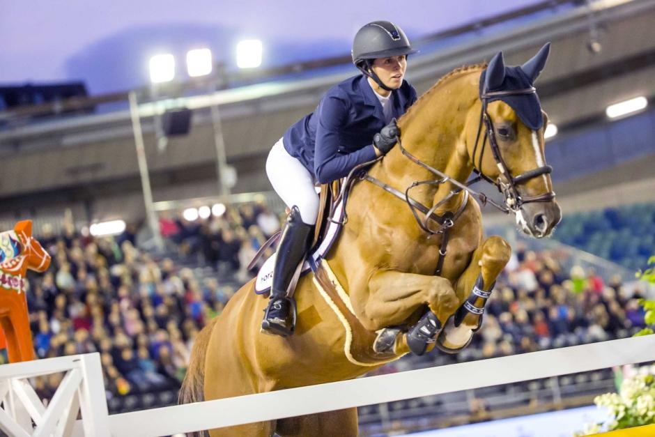 """Norska EM-ryttaren: """"Det ger mig möjlighet att behålla hästarna och satsa på karriären"""""""