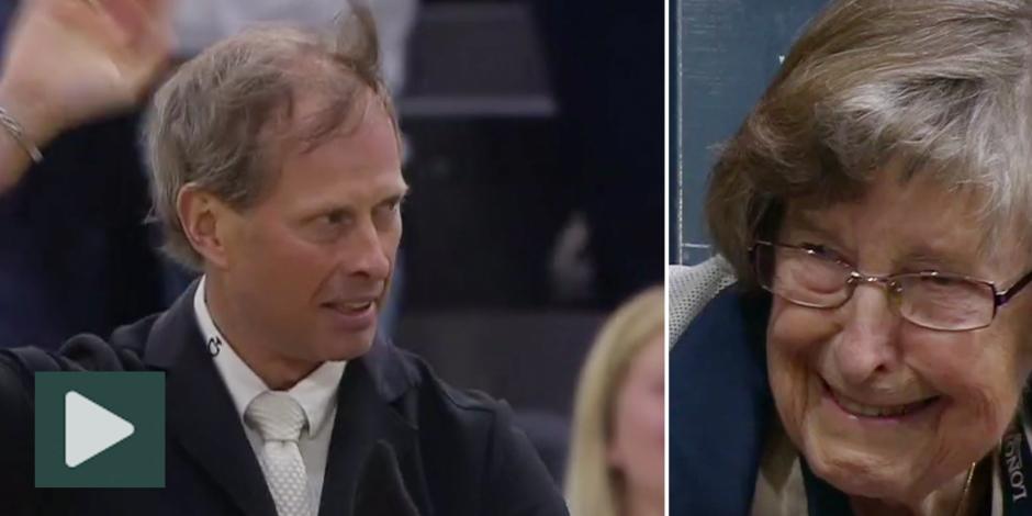 Gåshud: Se Rolf-Görans segerrunda och mamma Elsas glädje