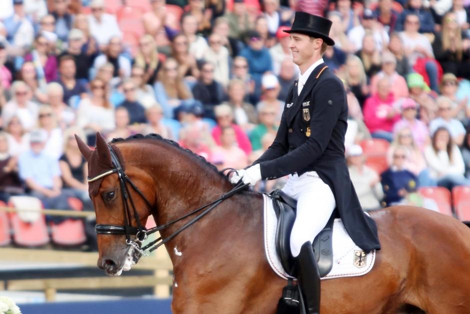 Sönke Rothenberger och Cosmo vann i comebacken