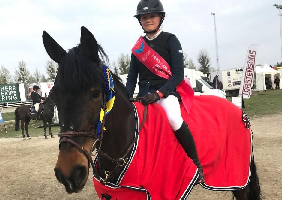 Svenska ponnylaget Nations Cup-trea