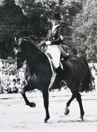 Eva-karin Oscarsson MunckLansad 1981 Foto: Roland Thunholm